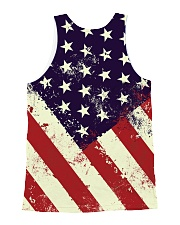 STAND FOR THE NATIONAL ANTHEM All-over Unisex Tank back
