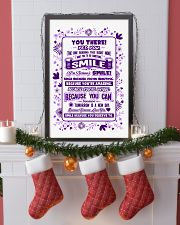 SMILE BECAUSE YOU DESERVE TO LOVE POSTER 11x17 Poster lifestyle-holiday-poster-4