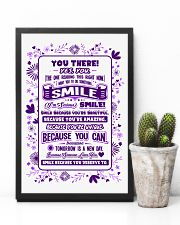 SMILE BECAUSE YOU DESERVE TO LOVE POSTER 11x17 Poster lifestyle-poster-8