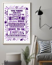 SMILE BECAUSE YOU DESERVE TO LOVE POSTER 16x24 Poster lifestyle-poster-1