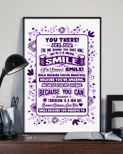 SMILE BECAUSE YOU DESERVE TO LOVE POSTER 16x24 Poster lifestyle-poster-2