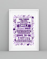 SMILE BECAUSE YOU DESERVE TO LOVE POSTER 16x24 Poster lifestyle-poster-5