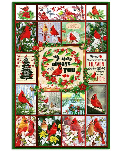 I Am Always With You Cardinal Poster