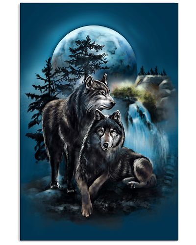 Mountain Wolf Poster GPS36
