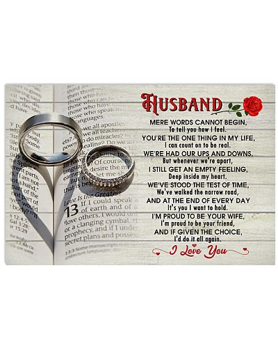 HUSBAND I'M PROUD TO BE YOUR WIFE