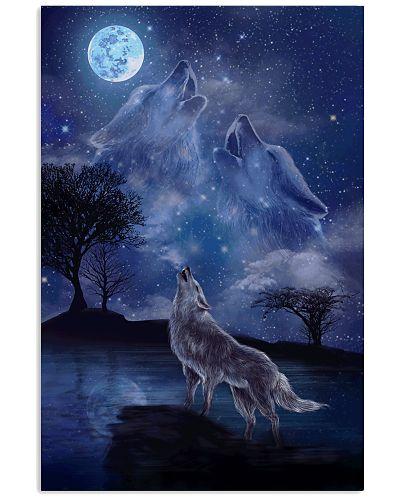 Three Wolf Moon Poster GPS30