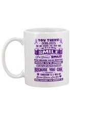 SMILE BECAUSE YOU DESERVE TO Mug back