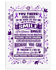SMILE BECAUSE YOU DESERVE TO 11x17 Poster thumbnail
