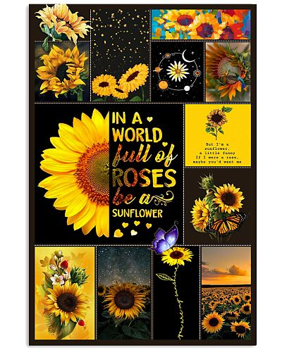 Be A Sunflower Poster GPN35