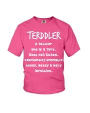 TERDDLER CUTE SHIRT Youth T-Shirt front