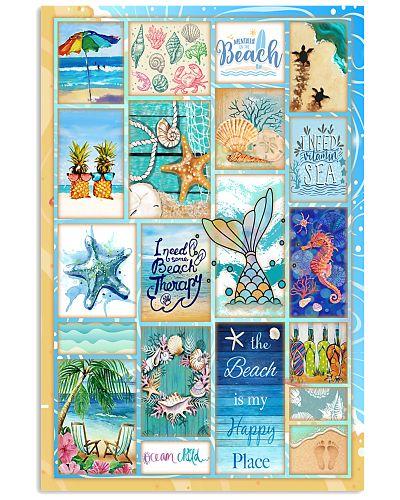 Beach Life Poster GPS37