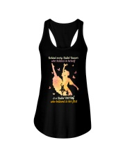 Behind every Ballet Dancer DPN37 Ladies Flowy Tank thumbnail
