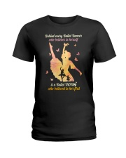 Behind every Ballet Dancer DPN37 Ladies T-Shirt tile
