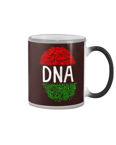 Africa DNA Flag Thumb Fingerprint Roots Proud Tee