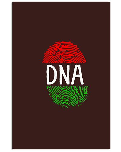 Africa DNA Flag Thumb Fingerprint Roots Proud Tee