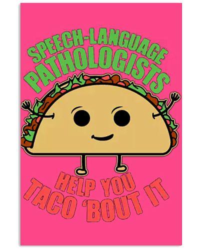 Speech Language Pathologist - Taco - Funny