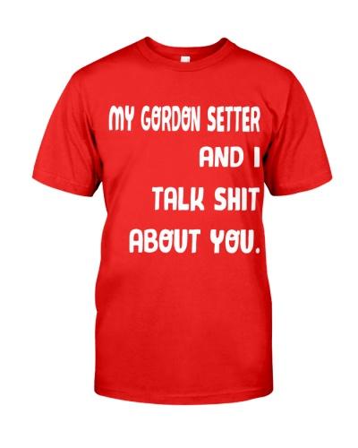 my gordon setter