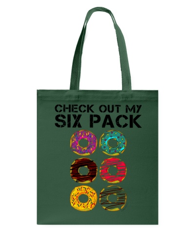 Funny Gym Check Out My Six Pack Donut - Pack Donut