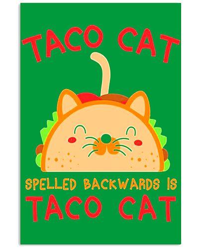 Taco Cat Spelled Backwards Is Taco Cat Funny Gift