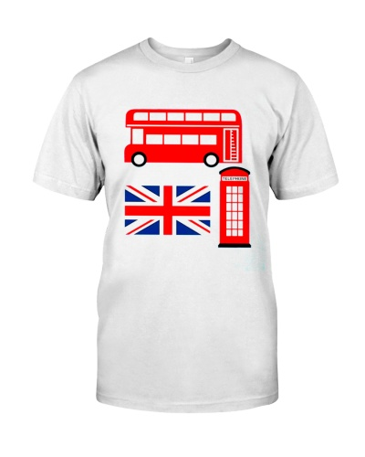 Vintage London I Love Travel Wanderlust Union Jack