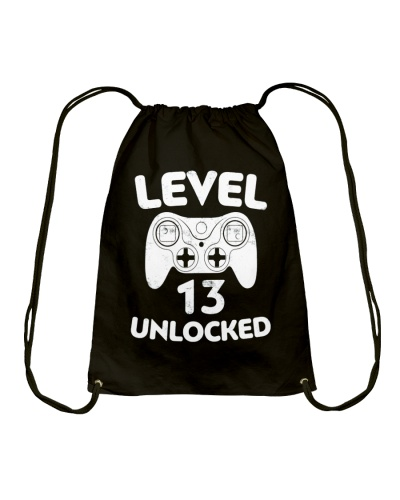 Level 13 Unlocked 13th Video Gamer Birthday Gift