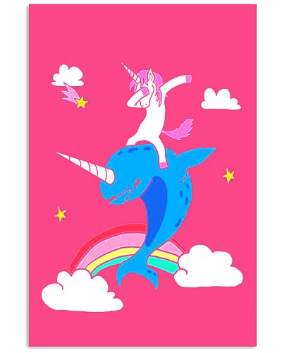 Funny Magical Dabbing Narwhal Unicorn - Unicorn