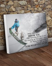Thank you dad - Snowboarding 20x16 Gallery Wrapped Canvas Prints aos-canvas-pgw-20x16-lifestyle-front-21