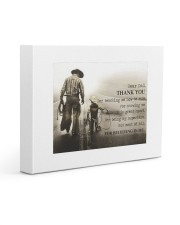 Thank you dad - Horse riding Gallery Wrapped Canvas Prints tile