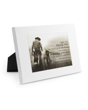 Thank you dad - Horse riding 10x8 Easel-Back Gallery Wrapped Canvas thumbnail