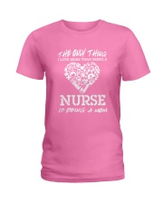 Nurse and Mom Ladies T-Shirt front
