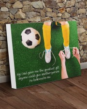 Thank you dad - Soccer 20x16 Gallery Wrapped Canvas Prints aos-canvas-pgw-20x16-lifestyle-front-21