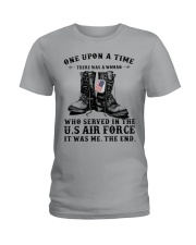 Girl Air Force Ladies T-Shirt front