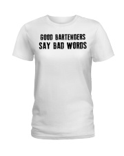 Bartender Ladies T-Shirt front