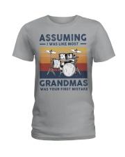 Grandmas Drum Ladies T-Shirt front