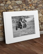 Thank you dad - Biker Dad 20x16 Gallery Wrapped Canvas Prints aos-canvas-pgw-20x16-lifestyle-front-21
