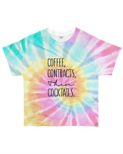 Coffee Contracts then cocktails All-over T-Shirt front