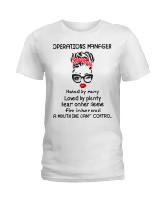 Operations Manager Ladies T-Shirt front