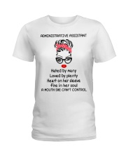 Administrative Assistant Ladies T-Shirt front