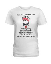 Activity Director Ladies T-Shirt front