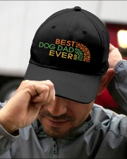 Best Dog Dad Ever Embroidered Hat garment-embroidery-hat-lifestyle-01