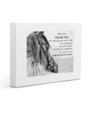 Thank you dad Gallery Wrapped Canvas Prints tile