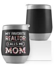 My favorite realtor calls me mom Wine Tumbler thumbnail