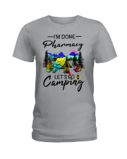 Pharmacy Camping Ladies T-Shirt front