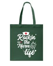 Rockin the nurse life Tote Bag thumbnail