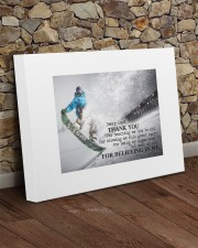 Thank you dad - Skiing 20x16 Gallery Wrapped Canvas Prints aos-canvas-pgw-20x16-lifestyle-front-21