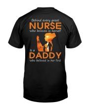Nurse  Daddy Classic T-Shirt back