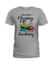 Nursing Gardening Ladies T-Shirt front