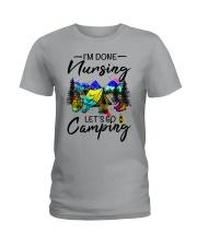Nursing Camping Ladies T-Shirt front