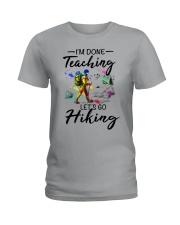 Teaching Hiking Ladies T-Shirt front