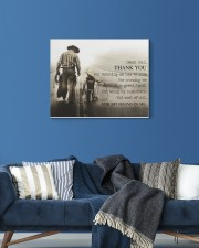 Thank you dad 20x16 Gallery Wrapped Canvas Prints aos-canvas-pgw-20x16-lifestyle-front-06